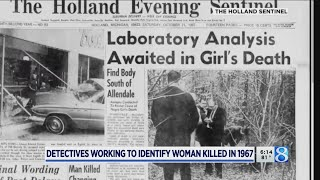 Exhumation aims to identify woman killed in 1967