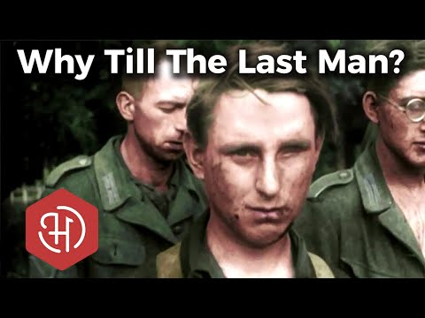 Why Did Germany Keep Fighting World War Two in 1944 – 1945?