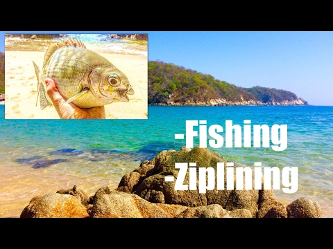 Ziplining And Multispecies Shore Fishing (pt 4)
