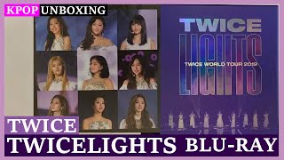 Unboxing TWICE [TWICELIGHTS] 트와이스 TWICE WORLD TOUR 2019 BLU-…