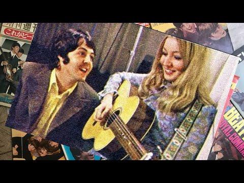 ♫ Paul McCartney and Mary Hopkin filmed for Magpie 1968 /photos