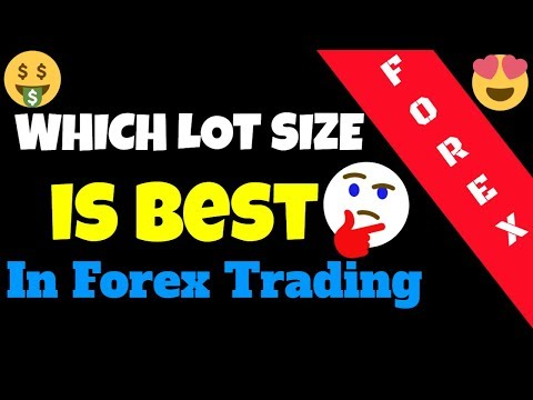 Choosing a Lot Size in Forex Trading