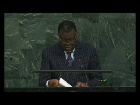 President Geingob tells UN 'include us or risk losing respect' - NBC