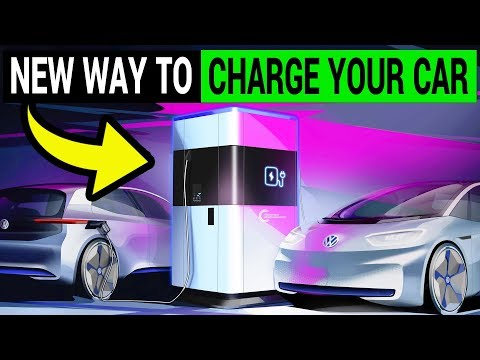 A New Way to Charge Your Electric Car | VW Mobile Charging