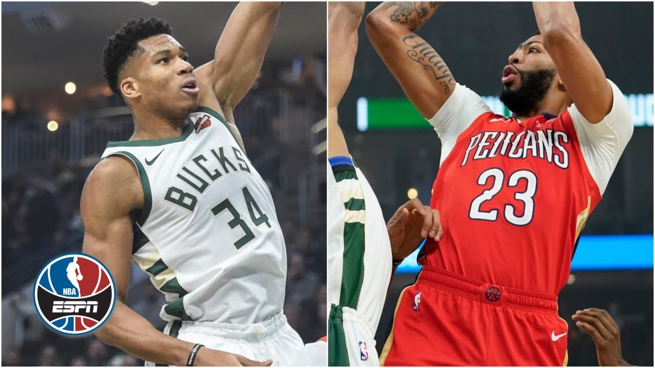 Giannis Antetokounmpo Goes Head To Head With Anthony Davis In Bucks Win Nba Highlights