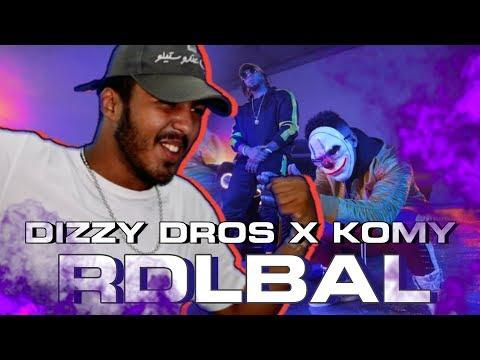 Dizzy DROS feat. Komy - RDLBAL  (Reaction)