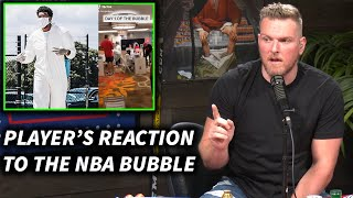 Pat McAfee Reacts To NBA Player's Impressions On The Orlando Bubble