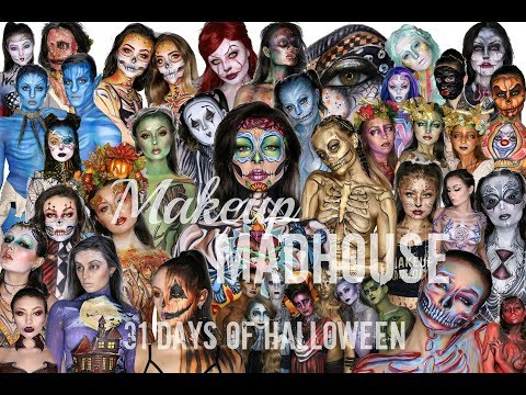 Makeup Madhouse 31 Days of Halloween 2018