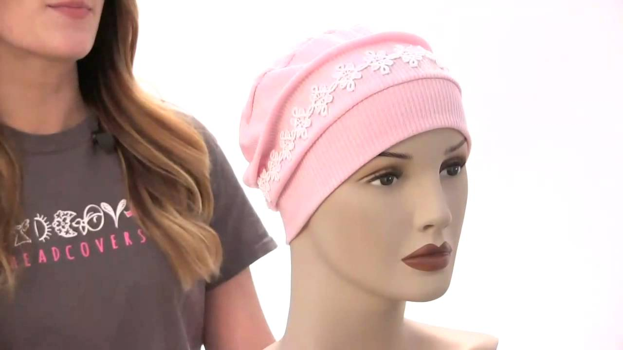 Eleanor Sleep Cap Turban for Cancer Chemotherapy Patients - YouTube 5381a4cc613