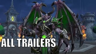 WARCRAFT 3 Reforged - ALL Trailers (Gameplay and More)
