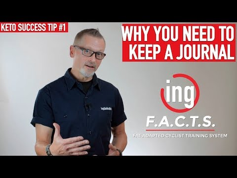 How To Keep A Nutrition Journal • Keto Endurance Tools - Fat Adapted Cyclists