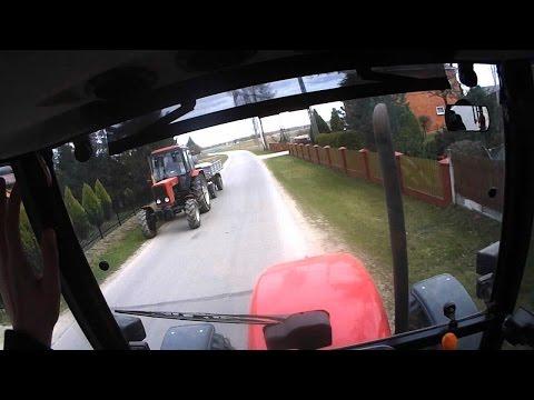 CabView! Czyli okiem kierowcy! #2 Bronowanie   Massey Ferguson 3625   Nor - Trak
