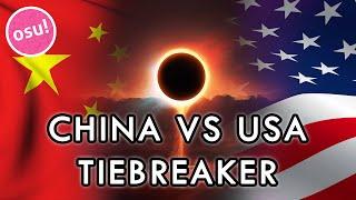 osu! World Cup 2015 - Grand Finals | China vs USA - TIEBREAKER /w Twitch Chat
