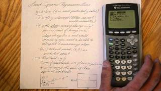 Regression Lines and Correlation with TI-84