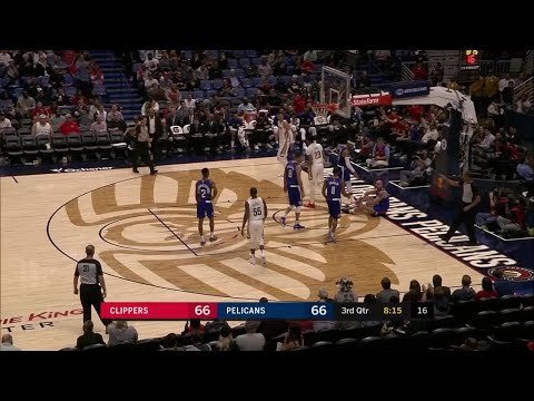 3rd Quarter, One Box Video: New Orleans Pelicans vs. Los Angeles Clippers
