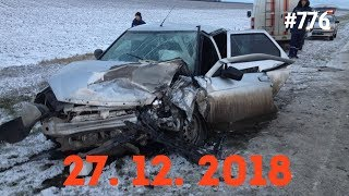 ☭★Подборка Аварий и ДТП/Russia Car Crash Compilation/#776/December 2018/#дтп#авария