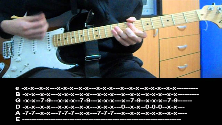 rhcp  cant stop guitar lesson with tab
