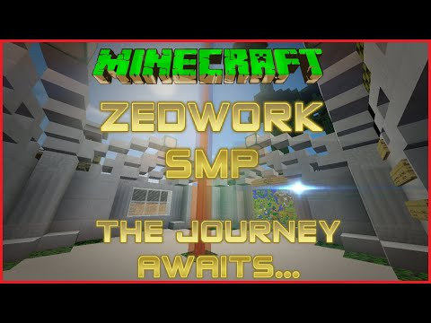 Minecraft - Zedwork SMP - Episode 2: Interior Designer