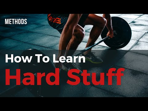 How To Learn Hard Stuff – Craft, Instrument, Profession, Languages (Caseback Method)