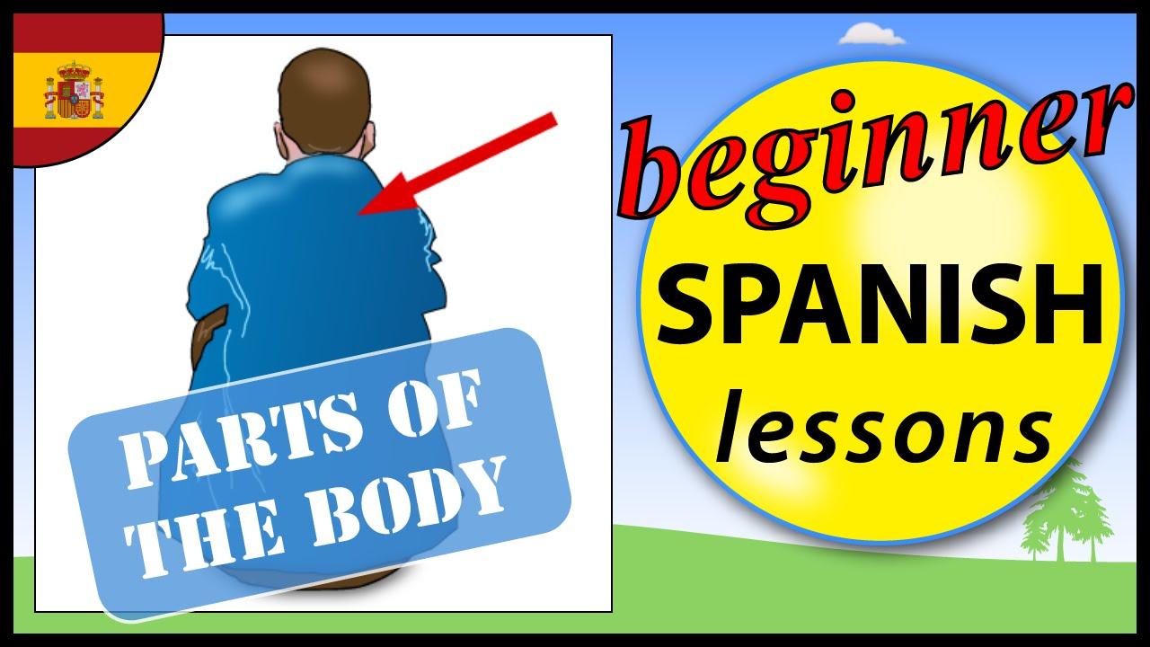 Parts Of The Body In Spanish Beginner Spanish Lessons For Children