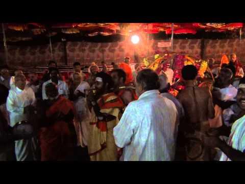 Bhajan in front of Sadguru Pallakki