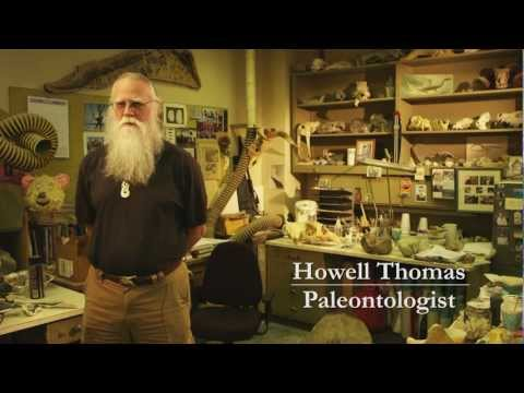 Paleontologist Howell Thomas - Natural History Museum of L.A.