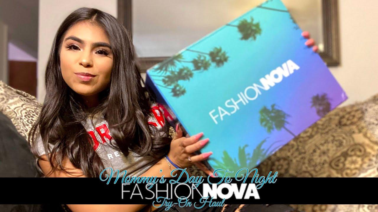 Mommy's Day to Night Fashion Nova Try-On Haul