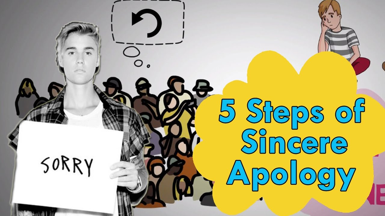 How To Apologize  5 Steps Of A Sincere Apology