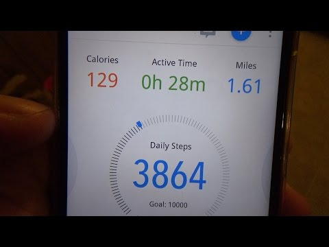 Cool Pedometer App 'Pacer' (Day 859 5/6/2017)