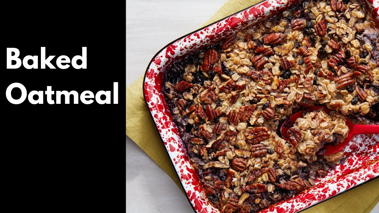 Baked oatmeal recipe - Quick, Easy and Healthy recipe