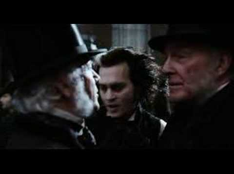 Sweeney Todd: The Demon Barber of Fleet Street trailer