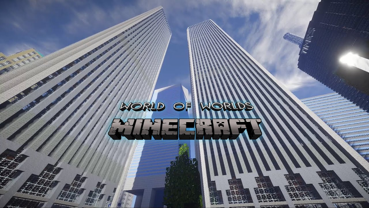 Minecraft City World of worlds YouTube
