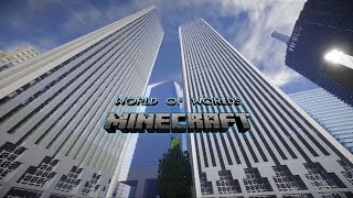 Minecraft City - World of worlds