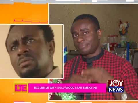 Exclusive With Nollywood Star Emeka Ike - Let's Talk Entertainment on JoyNews (11-12-17)
