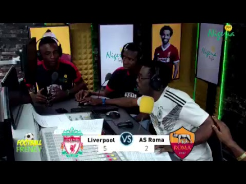 Liverpool vs Roma Live Commentary