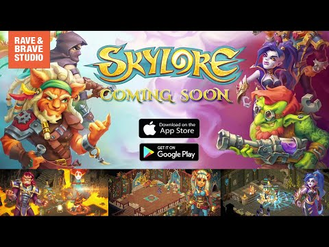 Skylore. Freelance - promo & trailer for mobile game development
