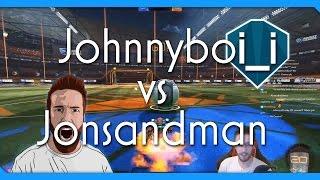 F2 Jonsandman vs F3 JohnnyBoi_i | Rocket League 1v1