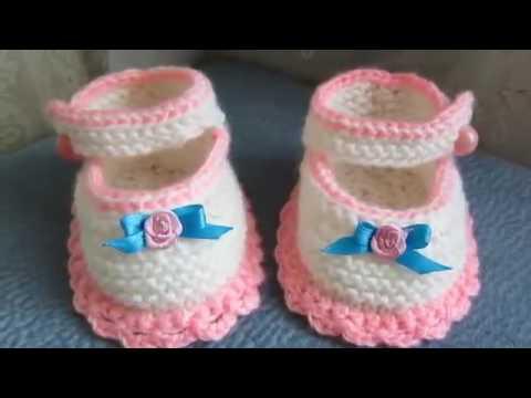 Escarpines a crochet para bebe recien nacido youtube - Adornos para bebe recien nacido ...