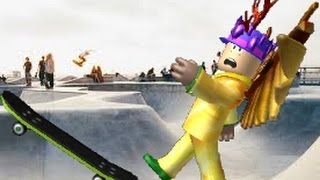 ROBLOX OBBY : I AM BAD WITH A SKATEBOARD !!