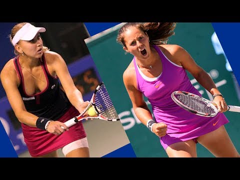 Daria Kasatkina vs Elena Vesnina DUBAI 2018 BEST HD Highlights