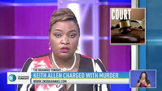 KEITH ALLEN CHARGED WITH MURDER