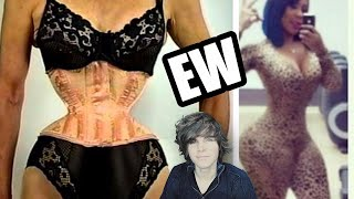 Repeat youtube video Corset Training Fail (Before And After)