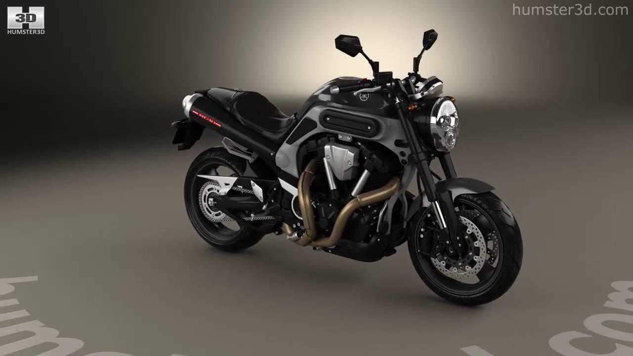 Hızlı ve şık Yamaha MT 01