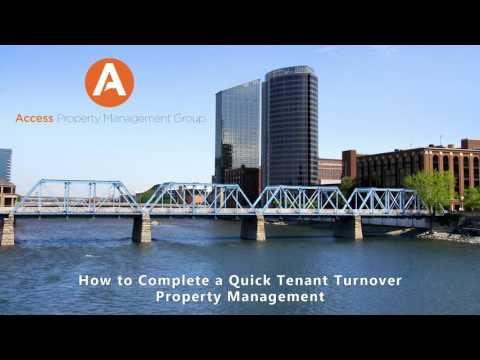 How to Complete a Quick Tenant Turnover – Grand Rapids Property Management