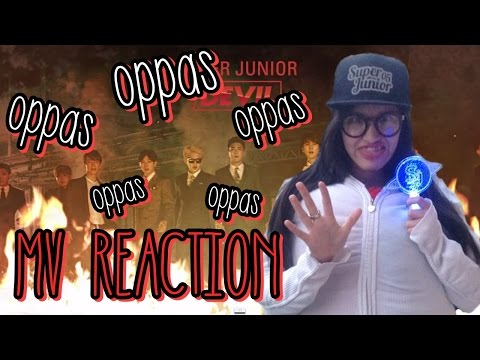 MV Reaction: Super Junior (슈퍼주니어) - Devil