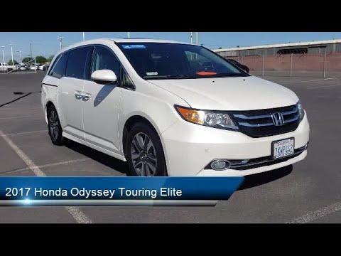 2017 Honda Odyssey Touring Elite Modesto Turlock Stockton Manteca Oakdale