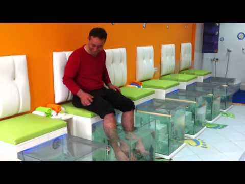 Dr. Fish Spa Happy Hands & Feet   Izmir / Turkey :)