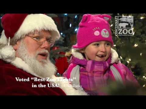PNC Festival of Lights Preview 2016 - Cincinnati Zoo