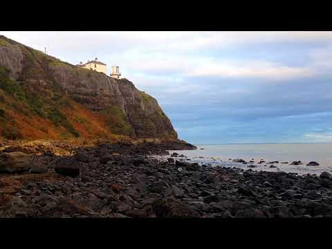 Ireland Sea Lighthouse Antrim - Relax Meditate Landscape Scenery