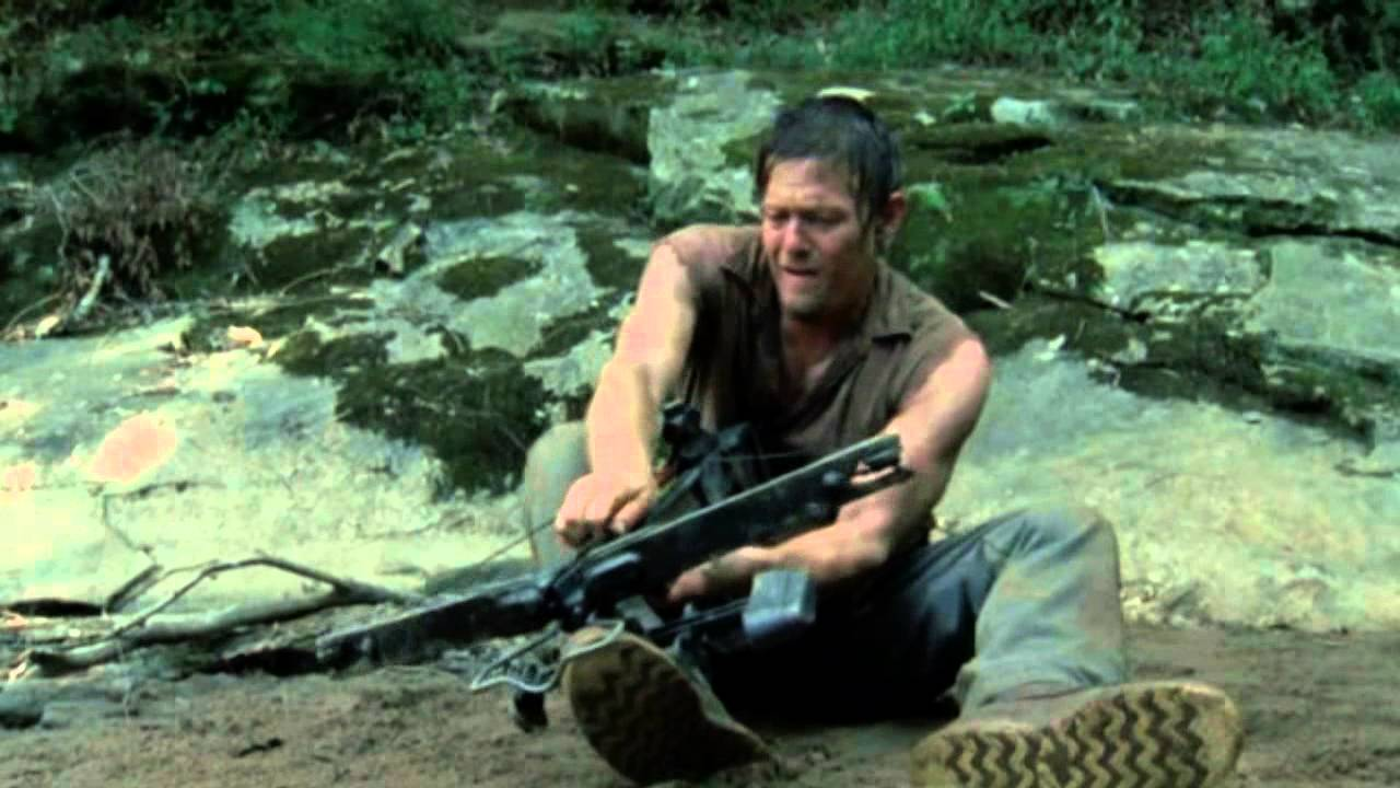 Fabuleux New Daryl Dixon Tribute HD with season 3 Ghost Walking by Lamb of  EA88